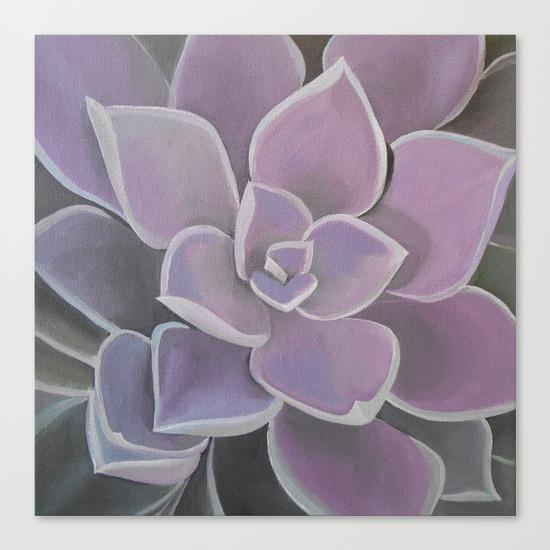 lavender-succulent