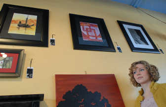 Rebecca Lloyd is a parttime artist who works in acrylics and watercolors. Her paintings can be seen at The Shop in the Perry district in Spokane.  JESSE TINSLEY THE SPOKESMAN-REVIEW