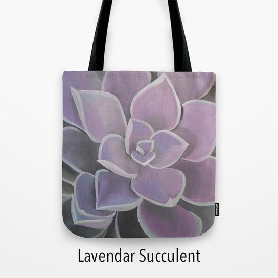 lavendar succulent
