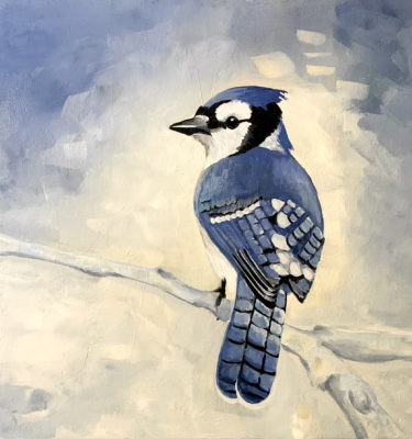 Artist Rebecca Lloyd -Jay Bird
